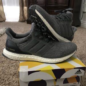 grey adidas ultraboost